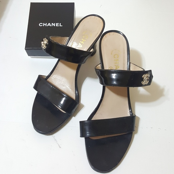 CHANEL Shoes - Chanel Patent Heels